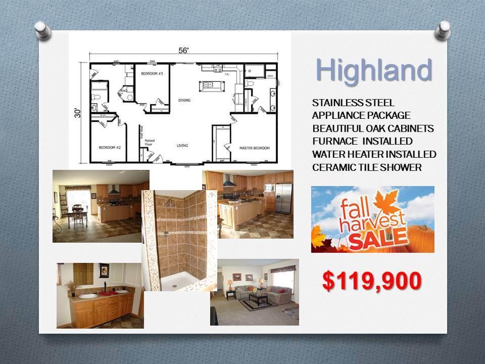 Highland Manufactured Homes Floor Plans